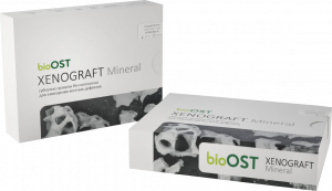 BioOst Гранулы с коллагеном  XENOGRAFT collagen (гранулы 1.0 - 2.0 mm 3 cc )